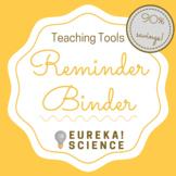 Teacher Planner: Reminder Binder (To Do Binder)
