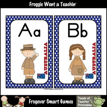Teacher Resource--Australia Kids Word Wall Headers