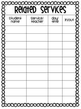 Teacher Resource Binder {Templates, Data Sheets, Forms, & Organizers!}