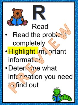RDW Posters, Reading Bookmarks and Library Sign