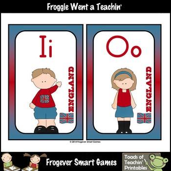 Teacher Resource--England Kids Word Wall Headers