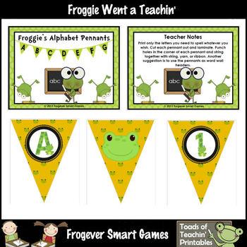 Teacher Resource -- Frog Pennants