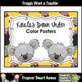 Teacher Resource--Koalas Down Under Color Posters