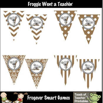 Teacher Resource--Koalas Down Under  Pennants/Buntings