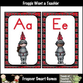 Teacher Resource--Melonheadz Graphics A Knights Tale Word Wall Headers