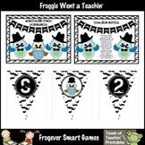 Teacher Resource -- Mustache Owls Pennants Set I