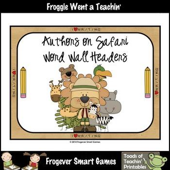 Teacher Resource--Scrappin Doodles Graphics Authors On Saf