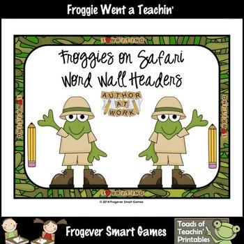 Teacher Resource--Scrappin Doodles Graphics Froggies on Sa