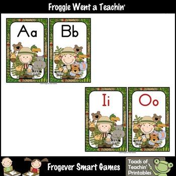 Teacher Resource Scrappin Doodles Graphics Jungle Crew Word Wall Headers