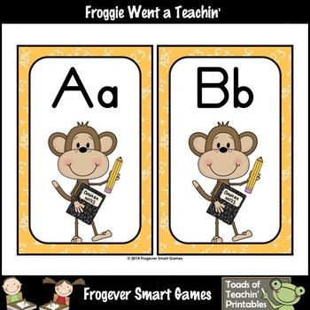 Teacher Resource--Scrappin Doodles Graphics Monkey Mania Word Wall Headers