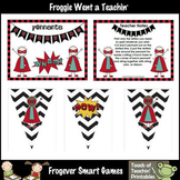 Teacher Resource -- Superhero Pennants