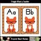 Teacher Resource--Wise Eyes Word Wall Headers (Foxes)