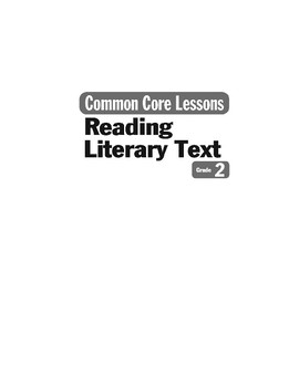Teacher Resources (Reading Literary Text)