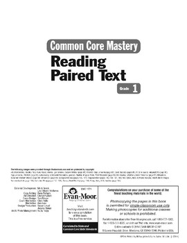 Teacher Resources (Reading Paired Text)
