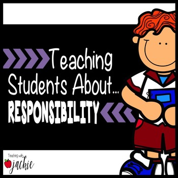 Responsibility: Teaching Character Education with Sort Cards