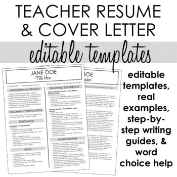 Teacher Resume Cover Letter Example from ecdn.teacherspayteachers.com