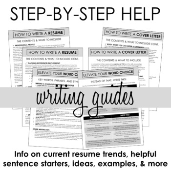 Teacher Resume & Cover Letter Template #2 + Step-by-Step ...