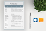 Teacher Resume Template For MS Word | 4 Pages | Cover Lett