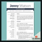 School Resume Teacher, CV Template, Cover Letter Word, Teacher Resume Template