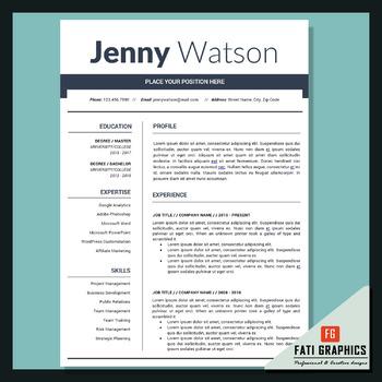 School Resume Teacher CV Template Cover Letter Word Teacher