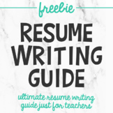 Teacher Resume Writing Guide and Interview Questions