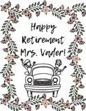 Teacher Retirement Book