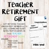 Teacher Retirement Gift