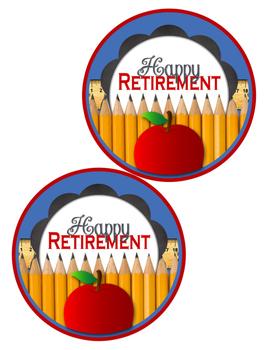 Teacher Retirement Table Centerpiece Decoration