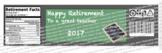 2018 Teacher Retirement Water Bottle Labels - Chalkboard Theme