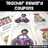 Staff Morale Boosters Teacher Reward Coupons