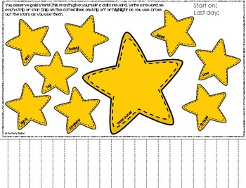 Teacher Reward Tracker and Countdown Calendar