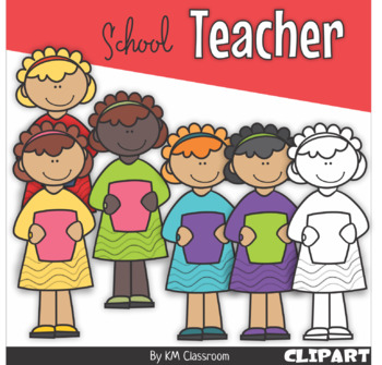 Classroom school. Teacher clipart