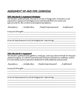 Teacher Self-Assessment on TKES Standards