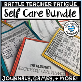 Teacher Self Care Bundle Teacher Planner 2019-2020 PDF Teacher Games