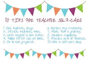 Teacher Self-Care Checklist (Revised)