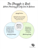 Teacher Self-Care Resource Bundle: Guided Journal + Action