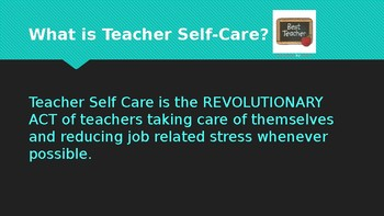 Teacher Self Care Tips!