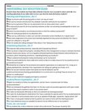 Teacher Self-Reflection Checklist