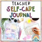 Teacher Self-care Journal