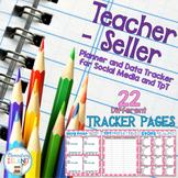 Editable Teacher-Seller Business Planner and Data Tracker