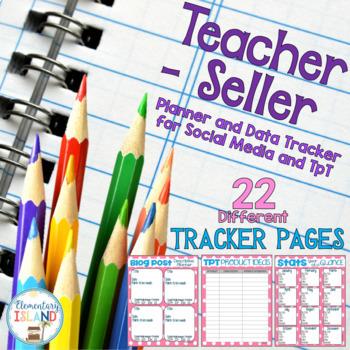 Teacher-Seller Business Planner and Data Tracker