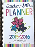 Teacher-Seller Planner HARD GOOD from session From Teacher
