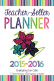 Teacher-Seller Planner from Vegas 2015 session: From Teacher to Teacherpeneur