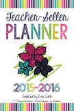 Teacher-Seller Planner from Vegas 2015 session: From Teacher to Teacherpeneur