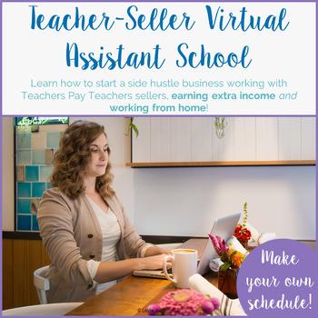 Teacher-Seller Virtual Assistant School   Side Income