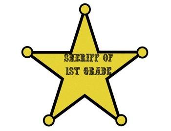 Teacher Sheriff Badges