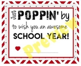 Teacher Staff Welcome Gift - Back to School - Popcorn