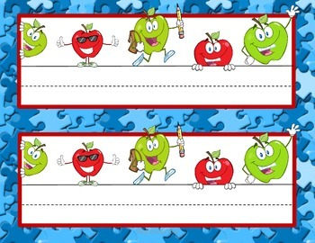 Teacher Start-Up Packet Apple Theme