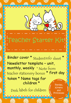 Teacher Starter Kit