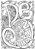 Growing Bundle - Stress Relief Adult/Child Zen Coloring pages